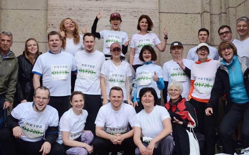 10-jähriges Jubiläum – KSP startete auch 2018 wieder beim Metro Group Marathon, Düsseldorf