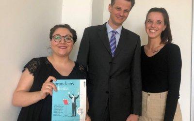 ドイツ国内の税理士及び監査法人のTOP15入りを果たしました。