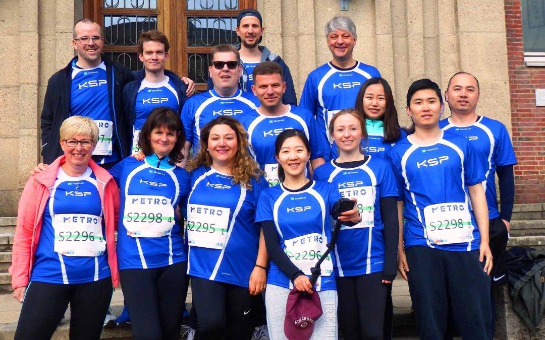 Zum 11. Mal beim Marathon 2019